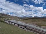 青藏铁路唐古拉山桥群