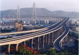国家优质工程银奖的罗长高速公路马尾互通立交桥